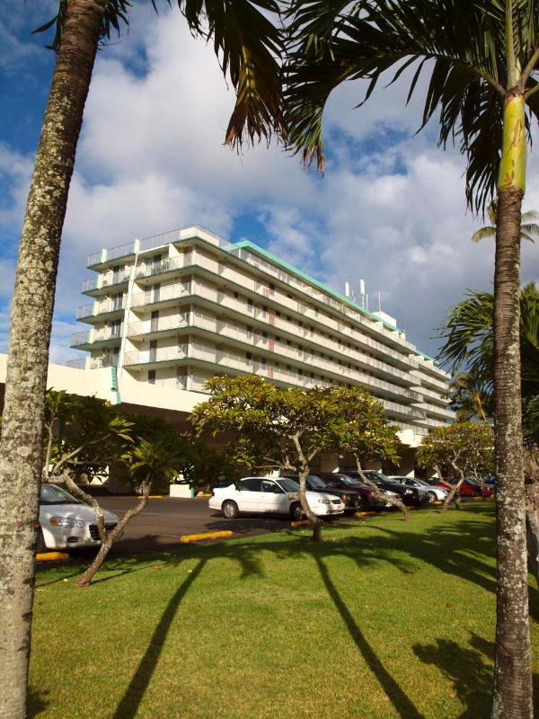 View of  Front of Building - One bedroom on secluded sandy beach: no added fees - Hauula - rentals