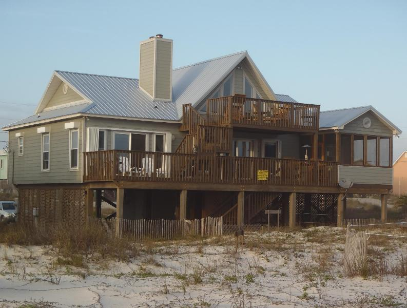 The House where you will be stayng - 3 Bedroom 2 Bath Luxury Beach Front Home - Gulf Shores - rentals