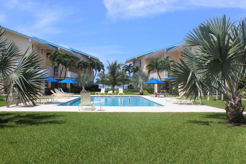 Salt Water Pool - 1B Condo on SevenMileBeach - CaymanReefResort #17 - Seven Mile Beach - rentals