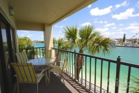 Peaceful view from your private balcony over Blinds Pass - 4-301 - Lands End - Treasure Island - rentals