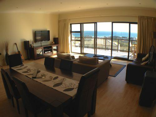 Dining Table with Sea View - FP2 Waves Edge Penthouse (sleeps 4) - Cape Town - rentals