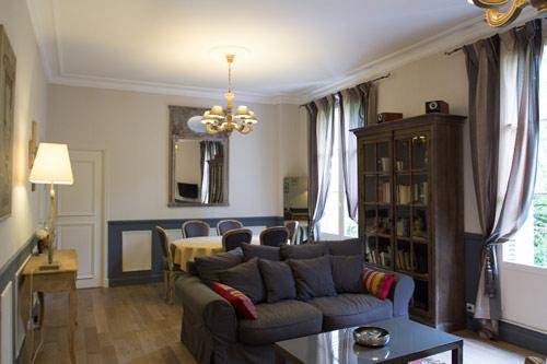 Living room at Les Carmes - Charming 19th century 2 bedroom apartment 6 + Baby - Tours - rentals