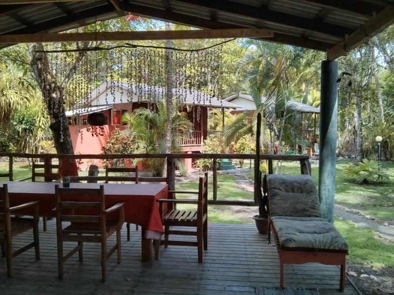rancho out door - Secluded Ocean Front Cabin On Playa Zancudo - Playa Zancudo - rentals