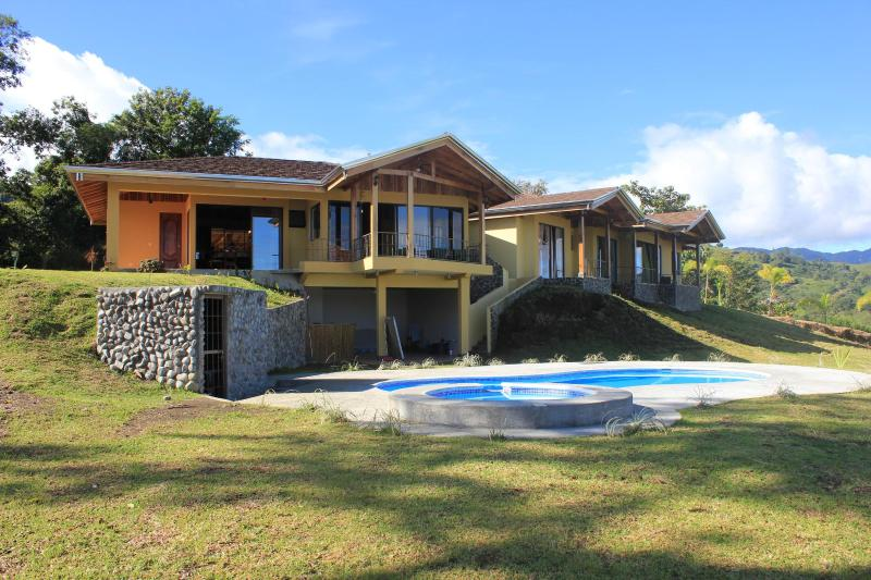 Casa Ceiba (view from lake side) - Luxury 3BR home overlooks Lake Arenal & Volcano - Province of Alajuela - rentals