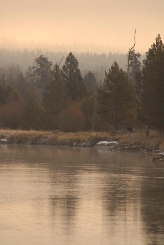 Deschutes river in the winter - River Song Sanctuary on the River! - Sunriver - rentals