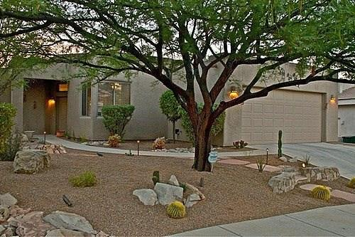 Front view of home - Private Home On Golf Course At Starr Pass - Tucson - rentals