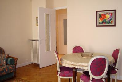 Spacious  Living Room equipped  with dining table and chairs , Sofa  - Nice Center Lg LOVELY 2BR 20M TERRACE FREE PARKING - Nice - rentals
