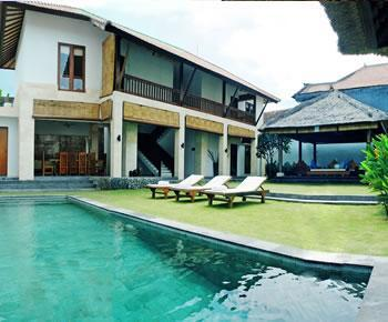 3 Bedroom Villa One - View from the pool - Vitodi Villas - 2,3 or 5 Bedroom Villa in Seminyak - Seminyak - rentals