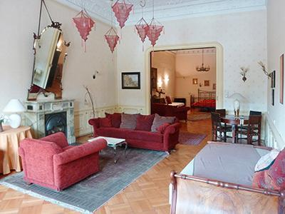 Stylish historic flat with fire-place and balcony! - Image 1 - Budapest - rentals