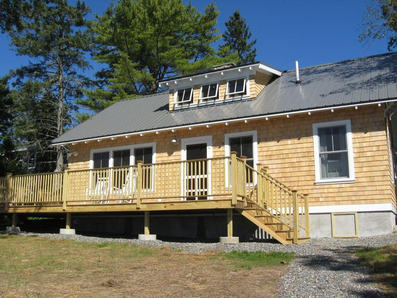 VIEW FROM WATER - Maine Oceanfront Vacation Rental - Belfast - rentals