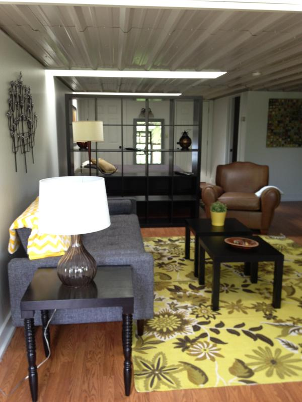Main living space - Furnished Studio Available for Weekend or Seasonal Rental - Ellicottville - rentals