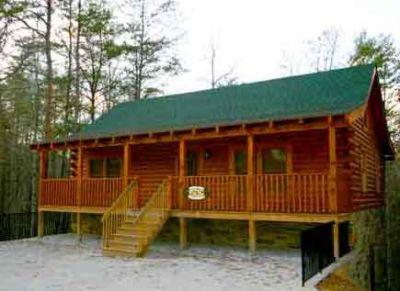 Outside - Wild Wild West - Pigeon Forge - rentals