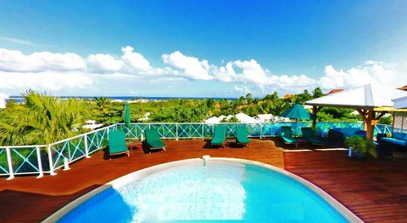 Tintamarre, Orient Bay, St Martin - TINTAMARRE...@ Green Cay Villas... lovely views, fresh breezes, comfortable villa overlooking beautiful Orient Bay - Orient Bay - rentals