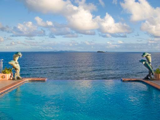 Villa Dolfijn...Dawn Beach Estates, St Maarten 800-480-8555 - DOLFIJN... experience breathtaking views and gentle breezes from this deluxe oceanfront villa in Dawn Beach Estates - Dawn Beach - rentals