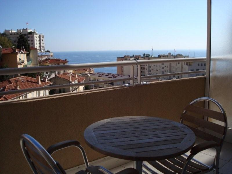 View From The Terrace in the Evening - Fantastic Sea View..........Delightful Studio .....Minutes to Monte Carlo ! - Beausoleil - rentals