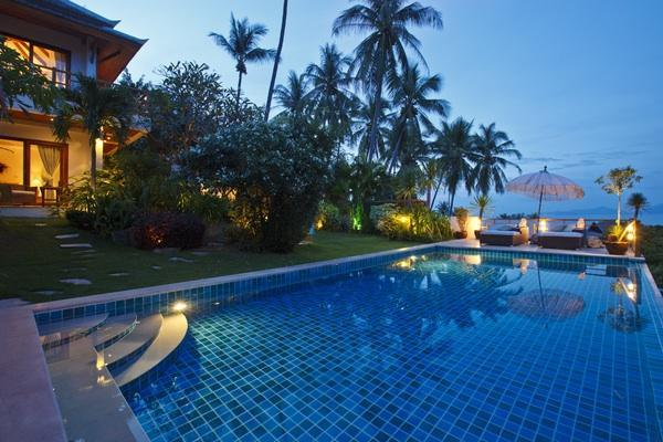 Infinity pool with stunning panoramic ocean views - Barefoot Luxury private villa stunning ocean views - Koh Samui - rentals