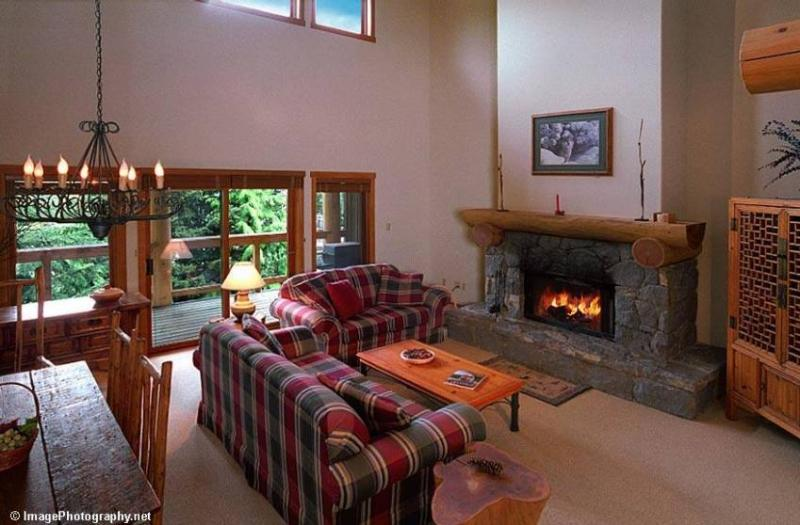 Living Room - Mark Lear - Whistler - rentals