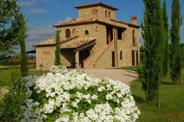 panorama of Achiaraluna - Luxury Villa,Cortona Area,view of Lake Trasimeno - Cortona - rentals