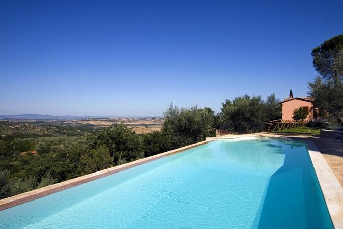 Swimming pool - 3 bedroom apartment in Umbria in Italy - Paciano - rentals