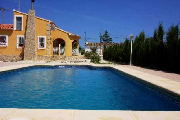 Villa Benibrai (Jalon-Alicante) - Costa Blanca Villa. 3 Bed. Private Pool, A/C, WiFi - Jalon - rentals