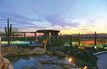 Fireside at Norterra Pool at Sunset - Fireside at Norterra - great north Phoenix location & amenities - Phoenix - rentals