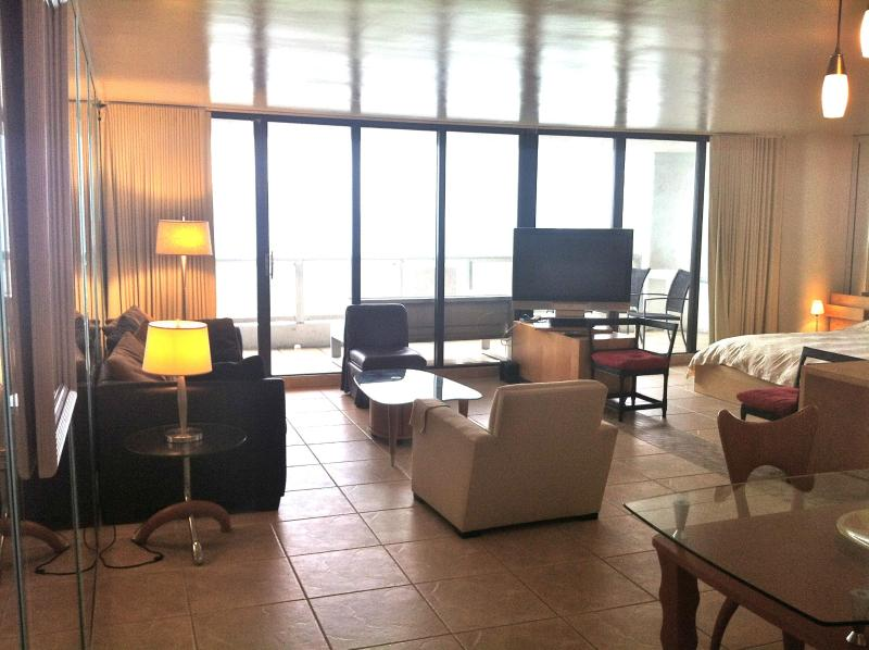 It's a large 1 bedroom that's converted to a loft for the best view of the city and water in Miami - South Beach, Miami, & above the DoubleTree Hotel - Miami - rentals