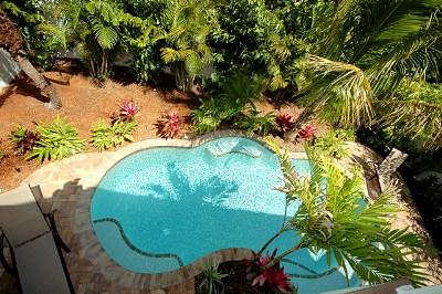 Lagoon style swimming pool - Fun In The Sun - 302 62nd St - Holmes Beach - rentals