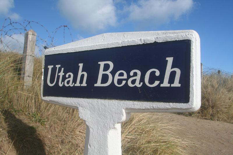 Welcome to Utah Beach © Mike Forster - Beach House Actually ON Utah Beach Normandy. - La Madeleine - rentals