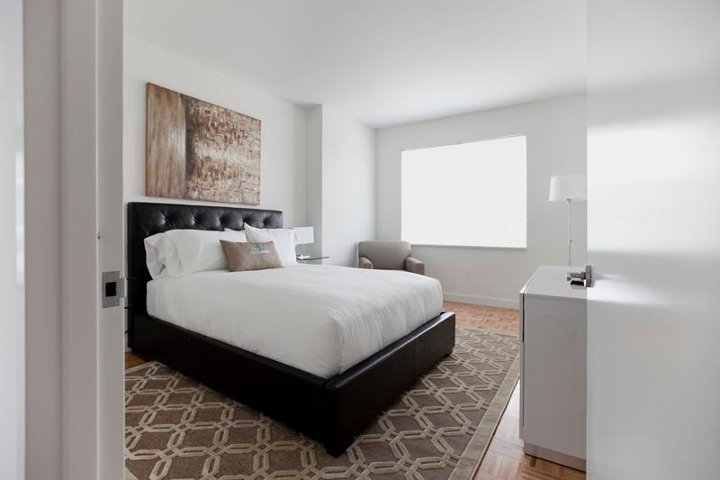 Master bedroom - Sky City at Newport Green- 3 bedroom - Jersey City - rentals