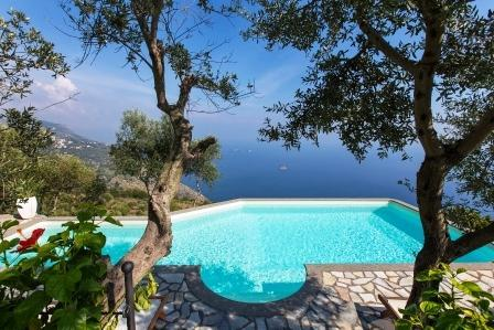 4 Bedroom villa with private pool, sea view, wi-fi - Image 1 - Sant'Agata sui Due Golfi - rentals