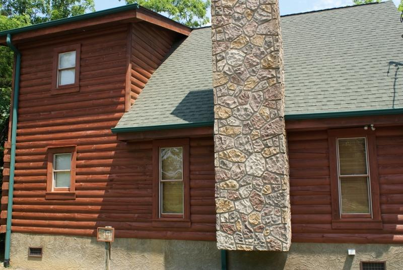 Side of cabin - 7Th Heaven Cabin, Sevierville, Tn  Sevier County - Sevierville - rentals