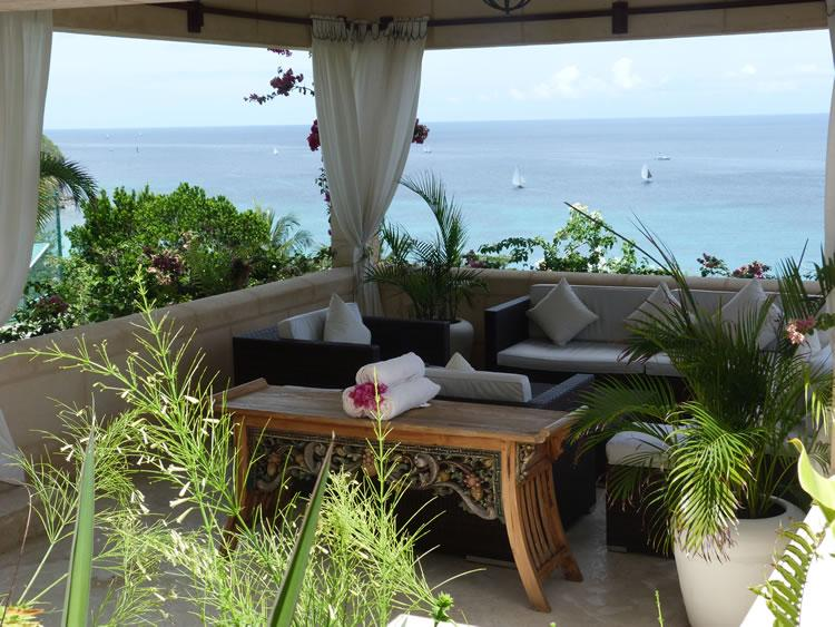 6 en-suite bedrooms, a large beautiful infinity pool private tennis court and gym all overlooking a picturesque harbour. (v) - Image 1 - Bequia - rentals