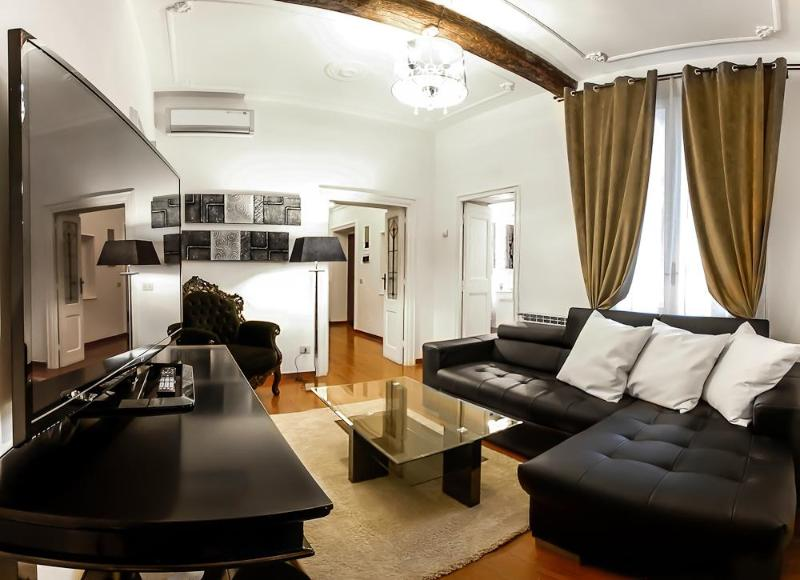 Living - Luxury 3Bdrs Apartment Hearth of Rome (Banchi) - Rome - rentals