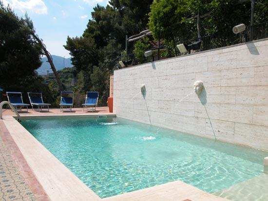 9 Bedroom villa with private pool, beach in Maiori - Image 1 - Maiori - rentals