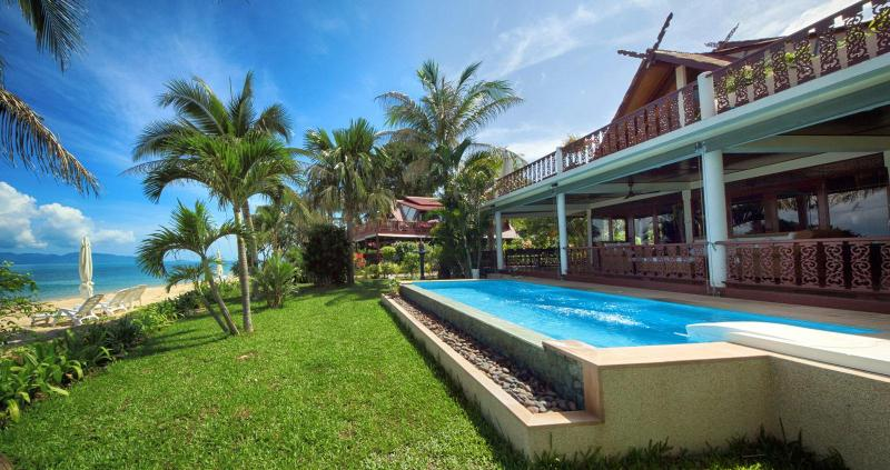 Laguna SUN - your paradisiac accommodation for a perfect stay in Koh Samui - SPLENDID VILLA on the beach w/ private pool 8Pers. - Koh Samui - rentals