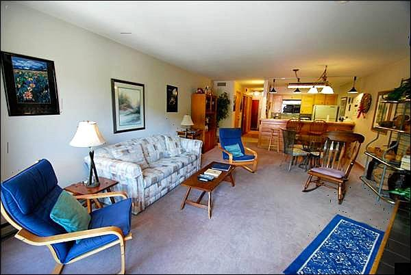 Open Living Room - Mountain Views - Cozy Yet Spacious Layout (7066) - Keystone - rentals