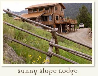 Sunny Slope Lodge - Half Price for Fall Rentals!  Eco Friendly, Custom Lodge Overlooking Yellowstone - Gardiner - rentals