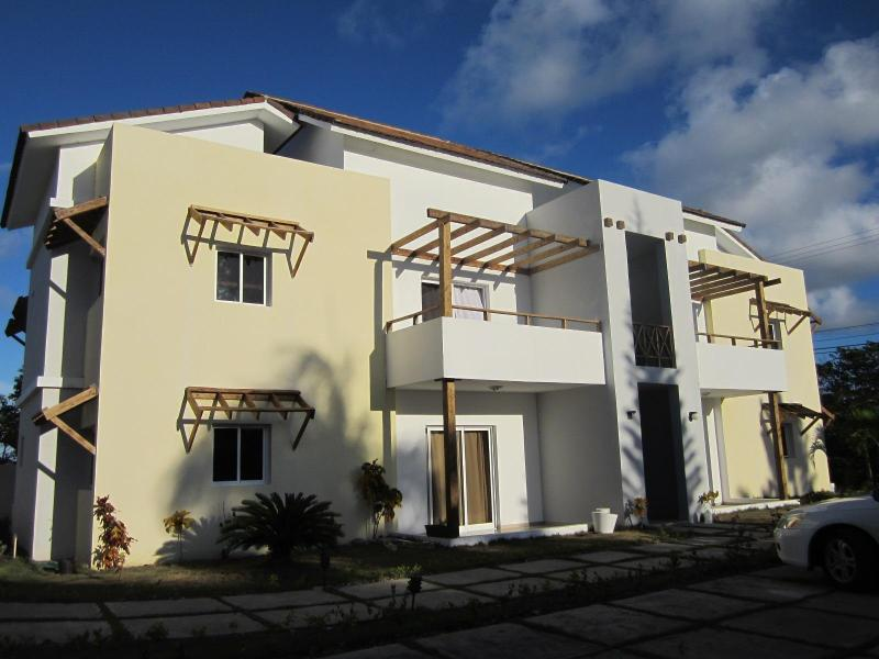 The Villa Gabriela, our condo is on the second floor - 2 BR Fully furnished condo in Punta Cana/Bavaro - Punta Cana - rentals