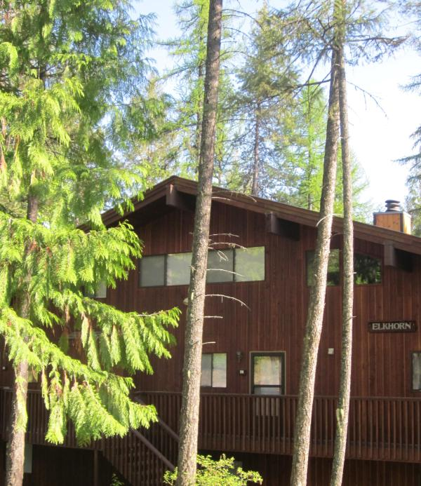 Entrance to #99 ELKHORN - Beautiful Condo on Whitefish Mountain! FALL Special $150/Night! - Whitefish - rentals
