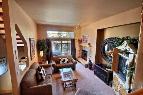 Fabulous decor in this great room! - 5 Minute Walk to Town, Lift and Pool Complex!!  Private tub on your balcony! - Breckenridge - rentals
