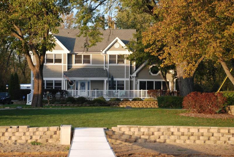 From the Lake - Beautiful Lakefront Home Powers Lake WI - Powers Lake - rentals
