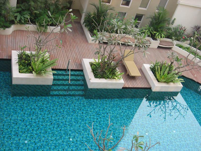 View from Deck - Twin Peaks Chiang Mai Luxury Condo - Chiang Mai - rentals