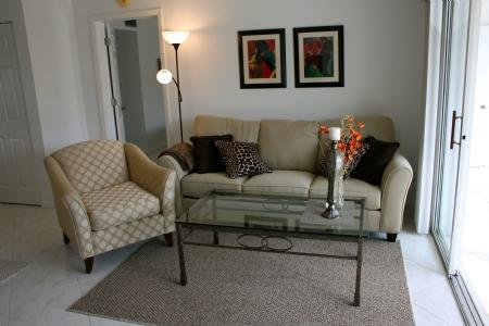 Living Room w/ View - SANDS - United States - rentals
