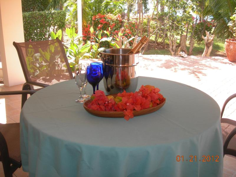 Patio - Marblue Villa Suites/Pineapple Suite - 4 you ! - Treasure Beach - rentals