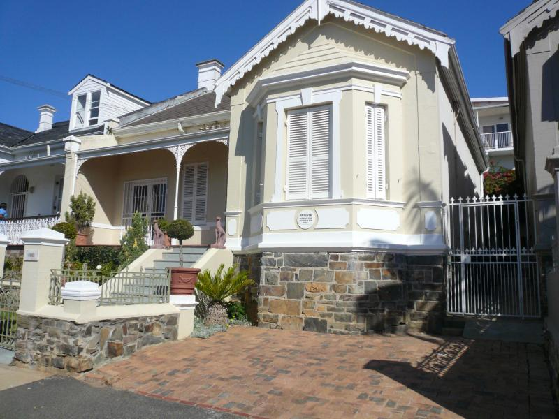 Front of House with parking (2 cars) - FirVilla, Green Point, Cape Town - Cape Town - rentals