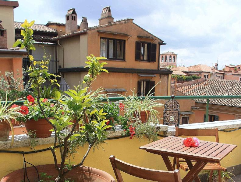 terrace - rooftop apartment per 2 near Spanish Steps - Rome - rentals