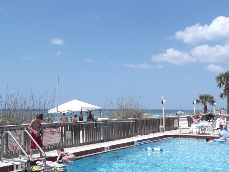Another beautiful pool/beach day - Relax and Enjoy Comforts from home  FiftyGulfside Condominium  50 Gulf Blvd Indian Rocks Beach - Indian Rocks Beach - rentals