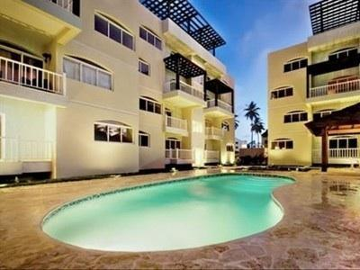Beach Residence 2BR  walking distance to ocean - Image 1 - Punta Cana - rentals