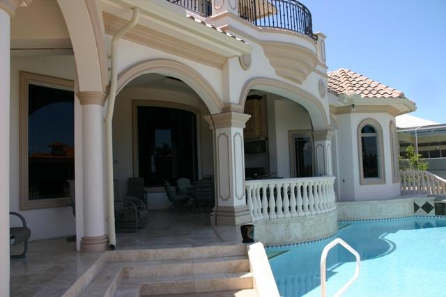 Lanai/pool - Exclusive 4/3 custom home with pool & spa -SPIN509 - Marco Island - rentals