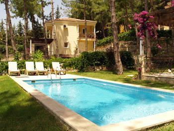 Pool - 3 Bedroom Private Villa in Gocek - Mugla - rentals